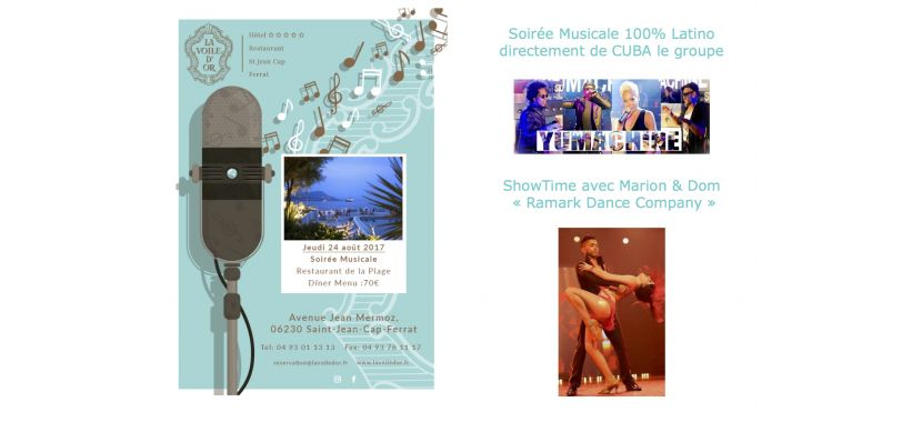 image Diners & soirées musicales